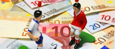 billet euros joueur foot